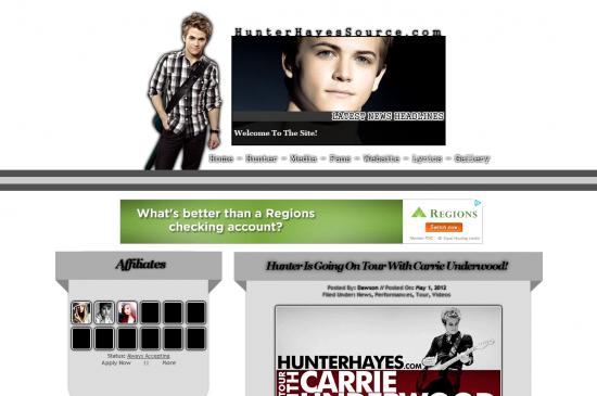 hunter hayes source hosted at free fansite hosting