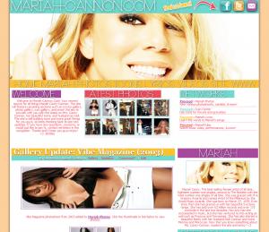 Mariah Carey-Cannon Fansite